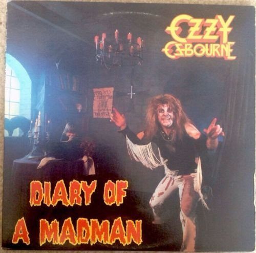 Price comparison product image OZZY OZBOURNE Diary Of A Madman LP Vinyl & Cover VG+ 1981 FZ 37492