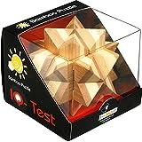 Fridolin - 17462 - Puzzle - Casse Tête en Bois Bambou - L'étoile