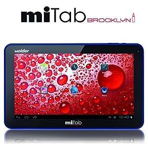 "Wolder miTab Brooklyn - Tablet de 10.1"" (8 GB, 1 GB RAM, Android 4.1 Jelly Bean), negro"