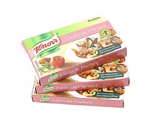 Knorr Seafood Boullion Cubes 8 Cubes 3 Pack