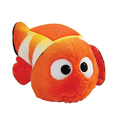 Characters Finding Nemo Disney - Pillow Pets Disney Finding Dory Nemo Dream Lites Stuffed Animal Night Light