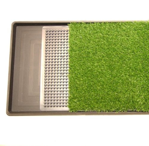 Pet Potty Three Layer Dog Toilet Training Pad Park Patch Mat Indoor Outdoor Large Size 30