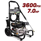 Best Gas Pressure Washers - Pujua 3600PSI 2.8GPM Gas Pressure Washer Power Washer Review