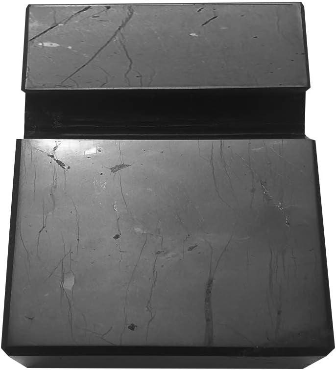 Shungite - Soporte de teléfono móvil pulido, con celda de bloque para teléfonos inteligentes EMF, rica en protección Fullerenes contra EMF, piedra auténtica de Rusia – Naturesupplies