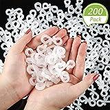 Blulu 200 Packs Valentine's Day Light Clip