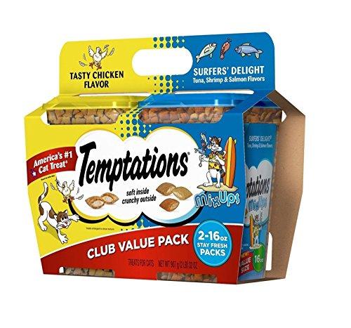 Doaaler(TM) Temptations Cat Treats Club Value Pack 16 Oz 2 Pk Tartar Control - New Item