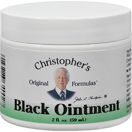 Dr. Christopher's Original Formulas Black Ointment - 2 (Christopher Black)