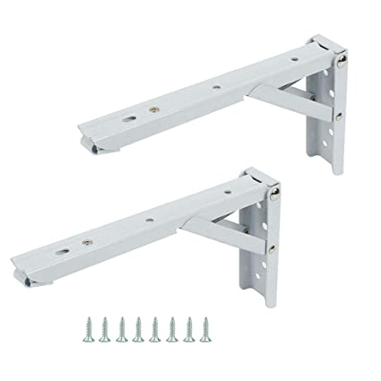 Amazoncom Rannb Folding Shelf Bracket 90 Degree Wall Mounted