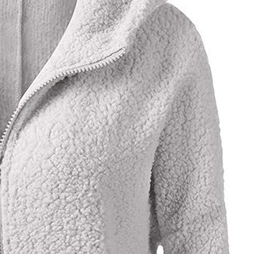 Invierno Abrigo Mujeres De Parka Cálido Zhrui Suéter Para Cremallera Capucha Casual Chaqueta Suelto Algodón Con Abrigos Mujer Outwear Escudo 8xn80qXfw