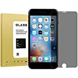 [2Pack]For iPhone 7 Plus/iPhone 8 Plus Privacy Screen protector[Full coverage],Lushim[9H Hardness][Bubble Free][Anti-Scratch]Tempered Glass Anti-Spy Screen Protector For iPhone 7Plus/iPhone 8Plus