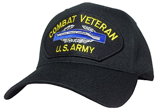 US Army Combat Infantry Badge Cap Black