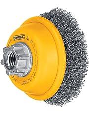 DEWALT Wire Cup Brush, Crimped, 3-Inch (DW4920)