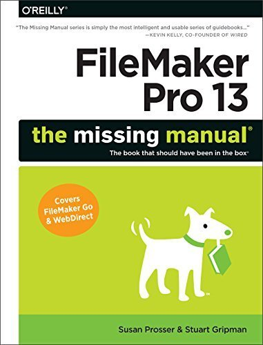 FileMaker Pro 13: The Missing Manual (Missing Manuals) by Prosser, Susan, Gripman, Stuart (2014) Paperback Taschenbuch – 1900 B00NYJ5EZU