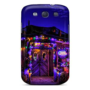 New Cute Funny Colorful Lights Case Cover/ Galaxy S3 Case Cover