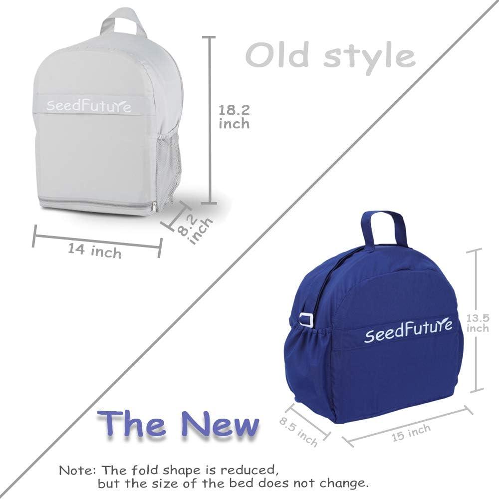 Newborn Baby Travel Portable Sleep Baby Recliner Sleeping Bag Crib Blue, Upgraded Version