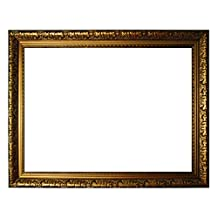 Baroque frame gold finely decorated 335 ORO, empty frame 40x60 cm
