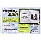 Memory Stone Marker W/Poem-Large Gray