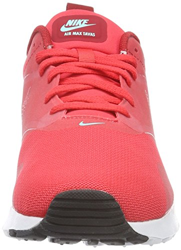 Nike Air Max Tavas, Scarpe da Ginnastica Basse Uomo Rosso (Action Red/Action Red-gym Red-white)