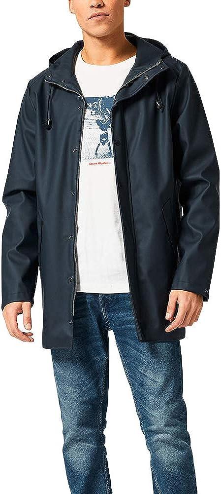 Rain Coat Windproof/Hooded Raincoat Waterproof/Trench/Coat/Outdoor Windbreaker Fahsyee Mens Rain Jacket