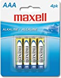 MAXELL 723841 AAA Battery 4-pk