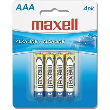 Amazon.com: MAXELL 723841 AAA Battery 4-pk: Aaa Alkaline