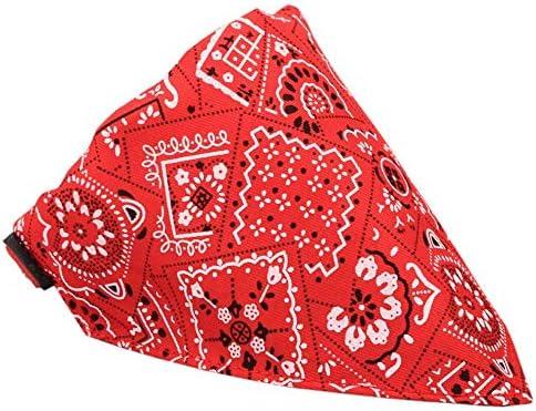 CAOQAO - Collar con pañuelo para Perro, pañuelo Ajustable, Collar ...