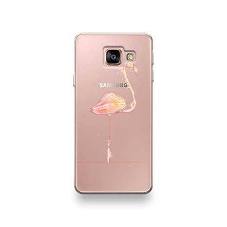 coque samsung a3 2016 flamant rose