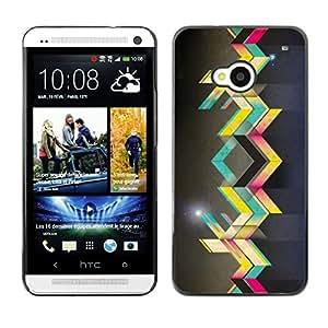 LauStart ( Arte callejero ) HTC One M7 Arte & dise?o pl¨¢stico duro Fundas Cover Cubre Hard Case Cover para