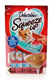 Delectables Squeeze Up Interactive Wet Cat Treats - Tuna - 32 Count