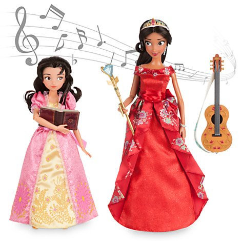 Disney Store Elena of Avalor Deluxe Singing Doll Set - 11'' (with 10'' Isabel) (Elena Of Avalor Deluxe Singing Doll Set)