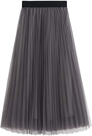 Mujeres Faldas Elegantes Largo Faldas Mujer Verano Faldas ...