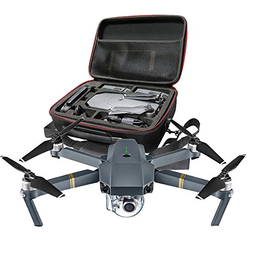 Rukiwa Hardshell Shoulder Waterproof box Suitcase bag for DJI Mavic Pro RC Quadcopter
