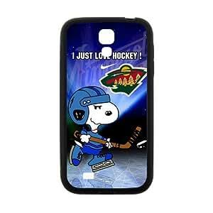 Custom Unique Design NHL Minnesota Wild Samsung Galaxy S4 Silicone Case