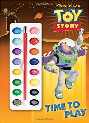 Time to play [with paint brush and paint] (disney pixar toy story) by rh disney (2010 01 12)