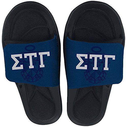 Express Design Group Sigma Tau Gamma Slide On Sandals Multicolored 2YYM8M8h