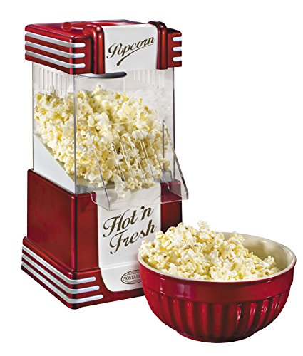 082677136251 - Nostalgia RHP625 Retro Series 12-Cup Hot Air Popcorn Maker carousel main 2