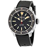 Alpina Seastrong Grey Dial Silicone Strap Men's Watch AL525BLGG4V6