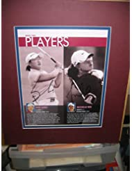 * MICHELLE WIE * LPGA signed program page display/ UACC RD # 212
