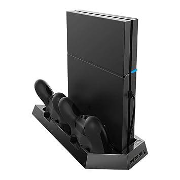 Amazon.com: criacr PS4, PS4 Slim soporte vertical con ...