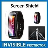 Protecteur d'écran INVISIBLE Samsung Galaxy GEAR FIT AVANT (Protecteur Avant inclus) Protection Grade Militaire Exclusive à ACE CASE