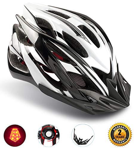 자전거 Shinmax LED라이트 부착 사이클링 22환기혈 떼내어 가능한 파라솔 사이즈 조정 가능두 지키는 CPSC인증 아이/어른도 적용