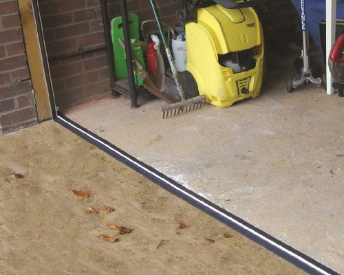 -[ Stormguard 04SR5072515BL 2515mm Garage Floor Threshold Seal - Black  ]-