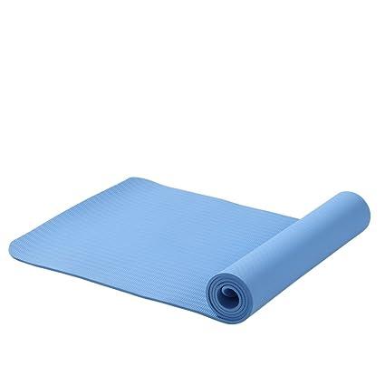 f10762c6a0053 Amazon.com : Wangs Yoga mat Fitness beginner Thicken Widened Long ...