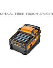 Automatic Focus FTTH Fiber Optic Fusion Splicer Machine with 5 inch LED Screen Display Toolbox Kit