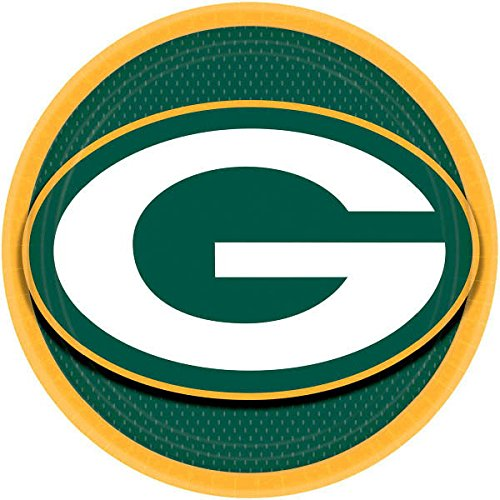 Amscan Green Bay Packers Collection 9