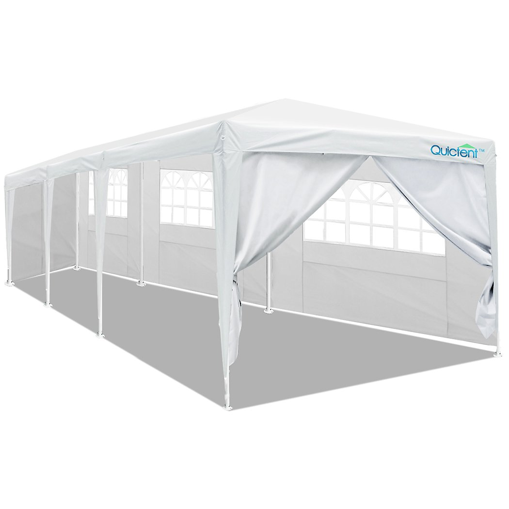 Quictent 10' x 20' Party Tent Gazebo Wedding Canopy BBQ Shelter Pavilion With Removable Sidewalls & Elegant Church (10'x20') 1401