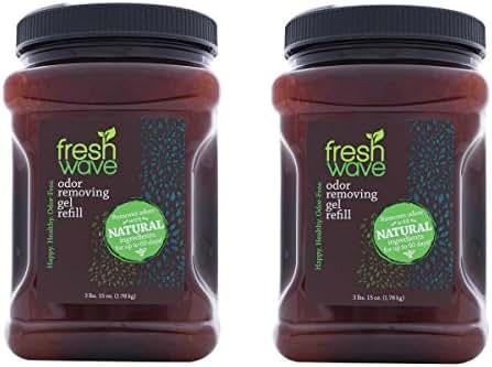 Fresh Wave Odor Removing Gel, 63-Ounce Jar (Pack of 2)
