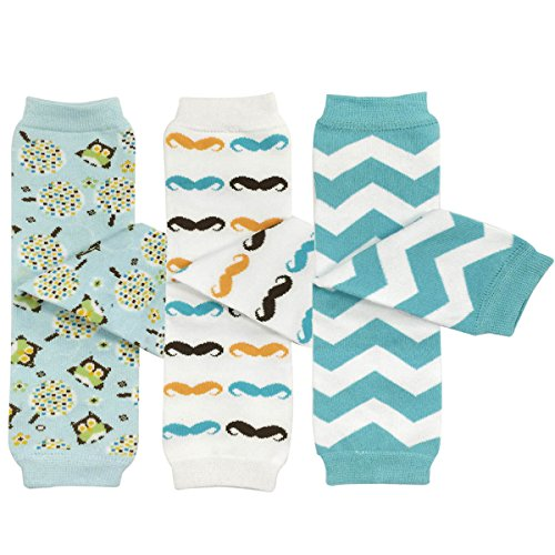 Leg Warmers, Owls, Moustaches, Blue Chevron (Baby Arm Leg)