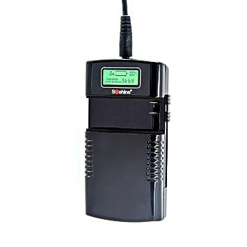 Cargador universal de baterías 3,7V/7,4V Li-ion con pantalla ...