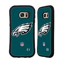 Official NFL Plain Philadelphia Eagles Logo Hybrid Case for Samsung Galaxy S6 edge+ / Plus